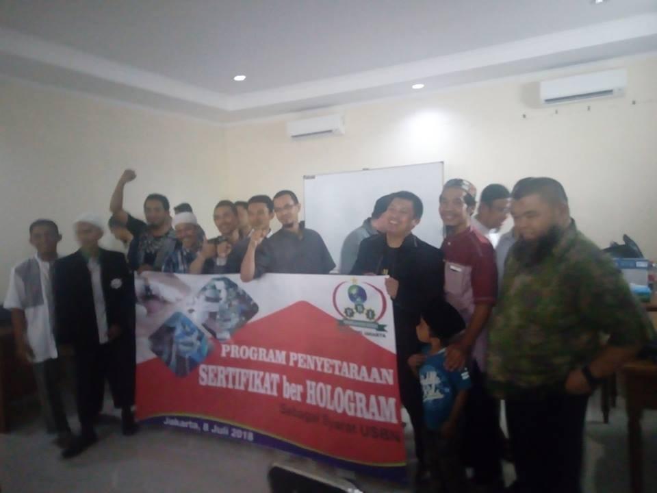 Program Penyetaraan Sertifikat berHologram (PPSH) PBI (Persatuan Bekam Indonesia)